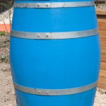 Barrel for toys in garage