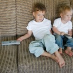 Kids addicted to tv