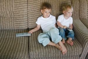 Kids addicted to tv