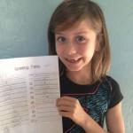 Eliza Spelling Test
